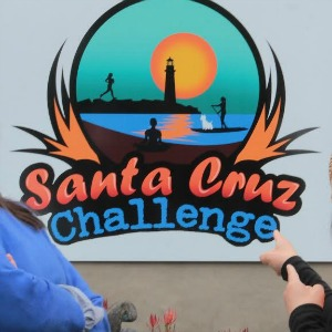 Leta Jussila (left) and Michelle Dean are the founders of the Santa Cruz Challenge, which begins its fourth year Feb. 22. Photo by Chip Scheuer.
