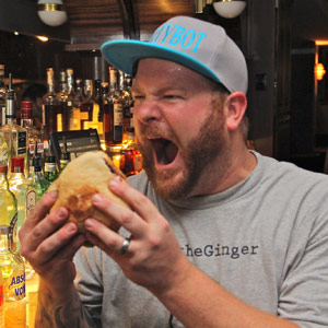 There's a lot to digest in the story behind Dax Swanson's rise to competitive-eating glory.