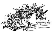 Surfrider Cafe logo