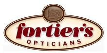 Fortiers Opticians logo