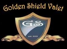 Golden Shield Valet logo