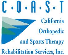 COAST Rehab - California Orthopedic and Sports Therapy Rehabilitation Services logo