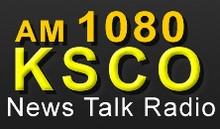 KSCO AM1080 : Red Hot News Talk Radio logo