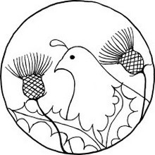 The Quail & Thistle Tea Room logo