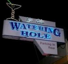 Ye Olde Watering Hole logo