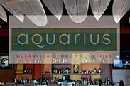 Aquarius Restaurant logo