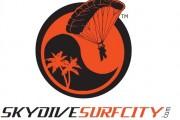 Skydive Surfcity Santa Cruz logo