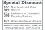Grand Prairie Plumbing Service